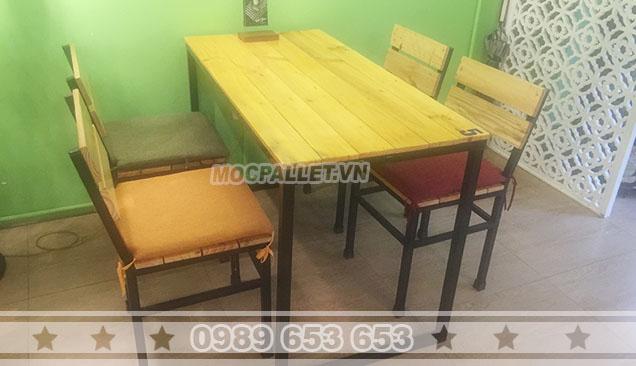 Bộ bàn ghế quán cafe Moon 2