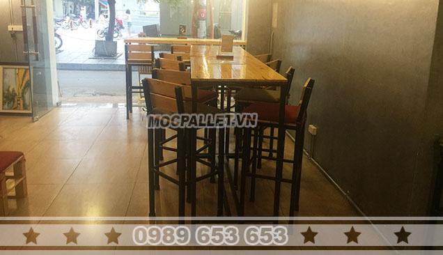 Bộ bàn ghế quán cafe Moon 5