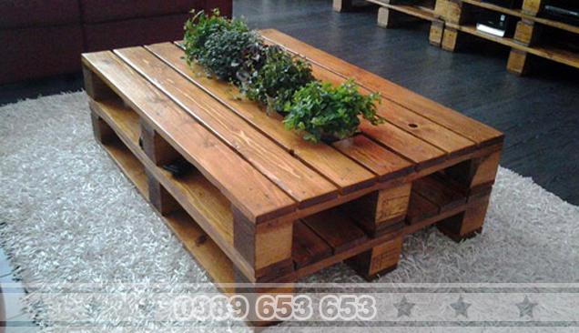 Bàn gỗ Pallet B52