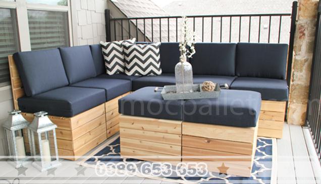 Bộ bàn ghế gỗ thông BG64