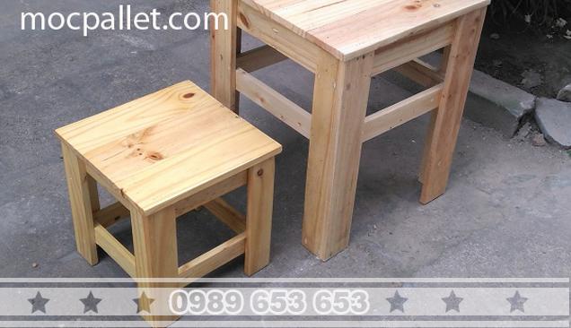 Ghế gỗ thông pallet BG82