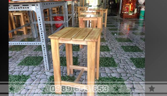 Ghế đôn gỗ thông pallet GD6