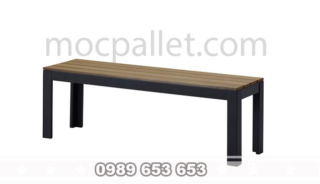 Ghế gỗ chân sắt GGS1