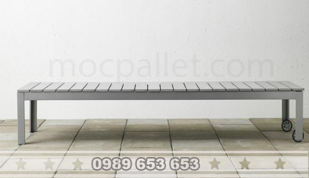 Ghế gỗ chân sắt GGS4