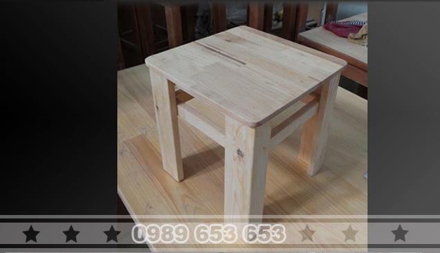 Ghế đôn gỗ thông pallet G5