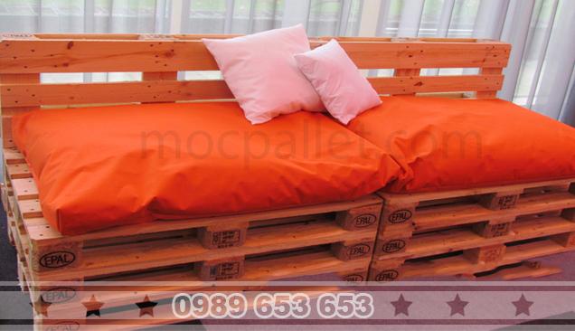 Ghế Sofa gỗ thông GE12