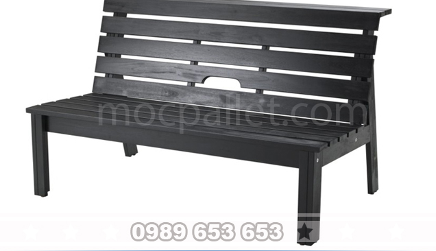 Ghế băng gỗ thông có tựa GB1