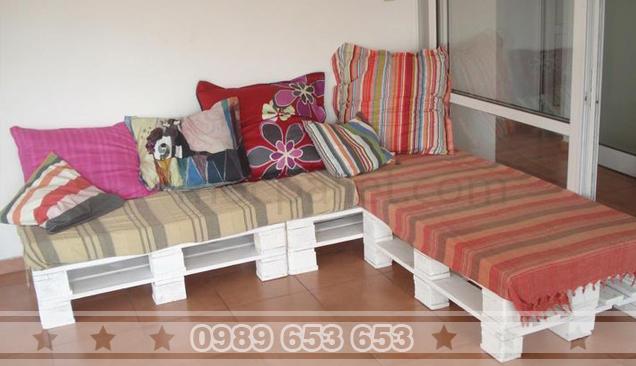Ứng dụng gỗ pallet trong trang trí nội ngoại thất