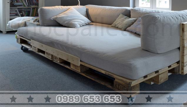 Ghế Sofa gỗ thông GE6