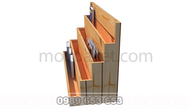 Kệ, Giá gỗ thông để đồ trang trí KG17