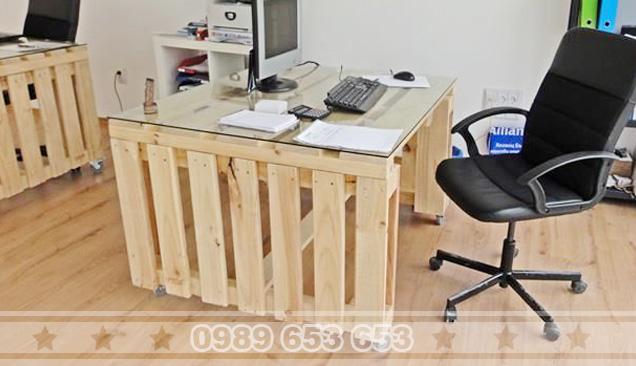 Bàn văn phòng Pallet MP01