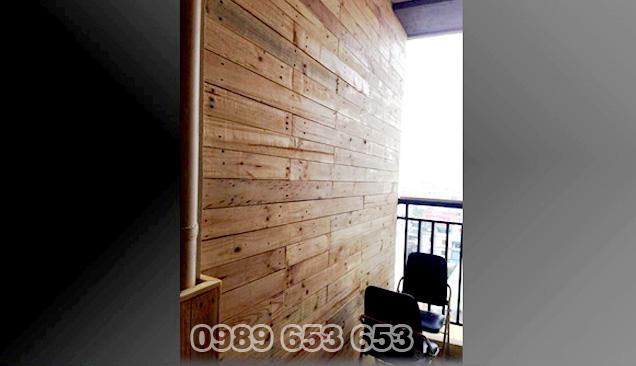ốp tường gỗ thông pallet 03