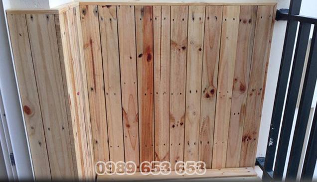 ốp tường gỗ thông pallet 05