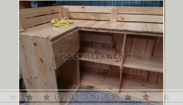 Quầy bar gỗ thông 18