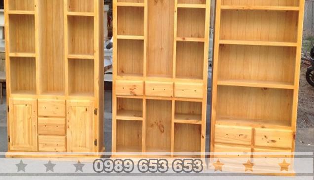 Tủ gỗ thông pallet T5