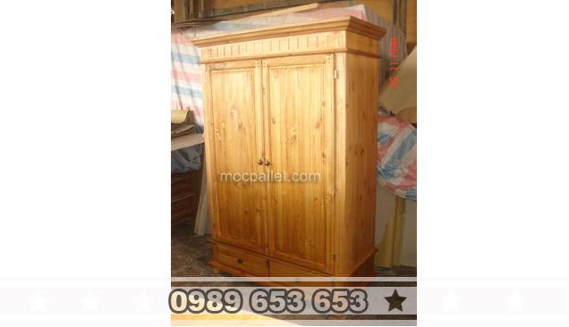 Tủ gỗ thông pallet giá rẻ T9