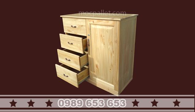 Tủ gỗ thông T17