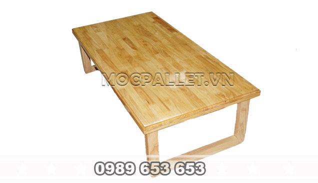 Bàn gỗ thông pallet ngồi bệt B53