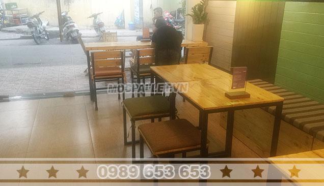 Bộ bàn ghế quán cafe Moon