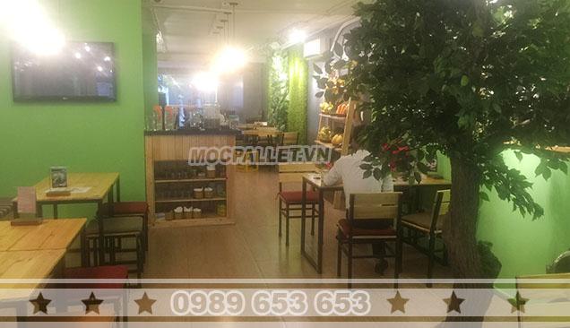 Bộ bàn ghế quán cafe Moon 3