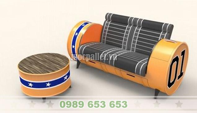 Có nên dùng bàn ghế thùng phi sắt không?