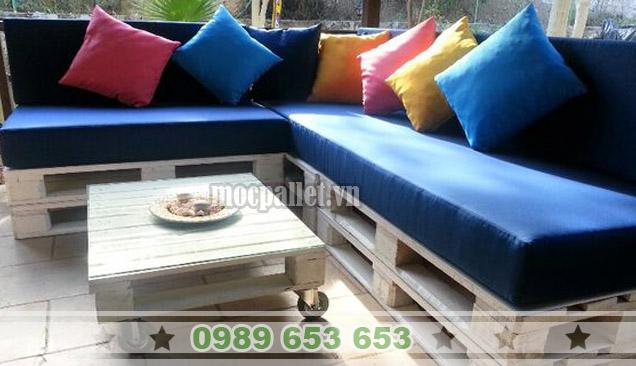 Bộ bàn ghế sofa phòng khách PK02