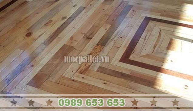 Sàn gỗ thông pallet SGT06