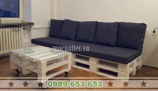 Bộ bàn ghế sofa phòng khách PK03