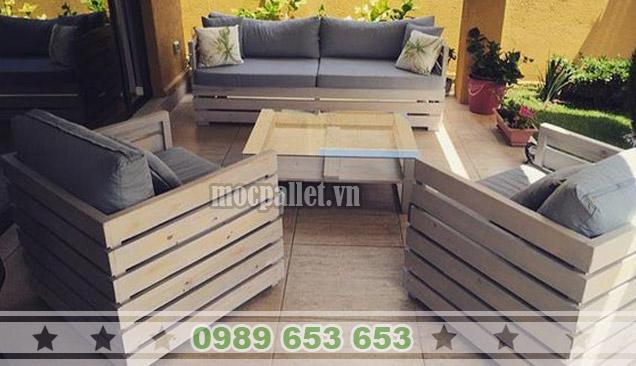 Bàn ghế phòng khách PK05
