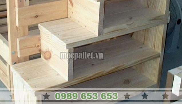 Kệ gỗ thông pallet KG21