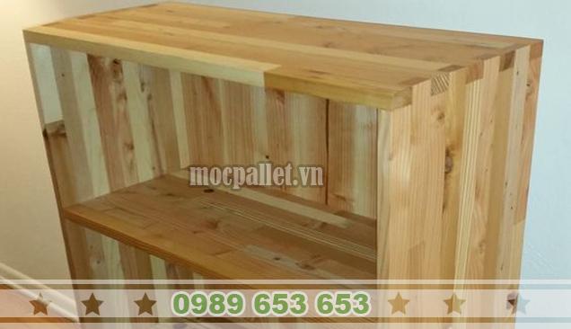 Kệ gỗ thông pallet KG10
