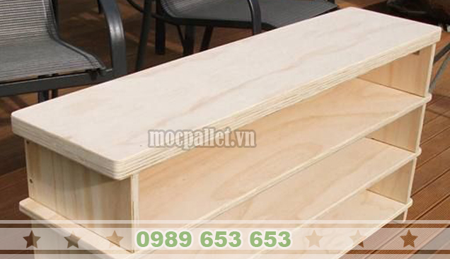 Kệ gỗ thông pallet KG16