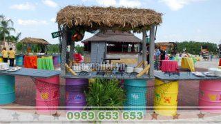Quay bar thung phi sat dep gia re
