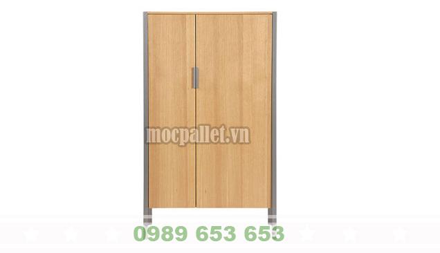 Tủ gỗ thông pallet TG04