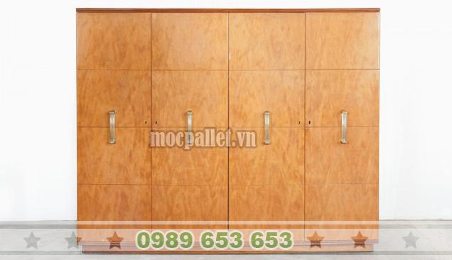 Tủ gỗ thông pallet TG03