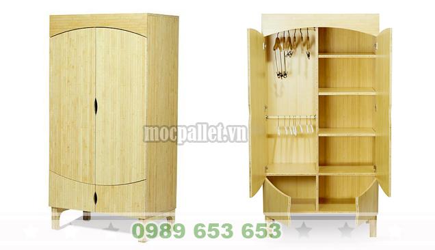 Tủ gỗ thông pallet TG05