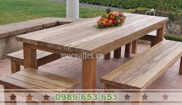 Bộ bàn ghế phòng ăn gia đình PA10