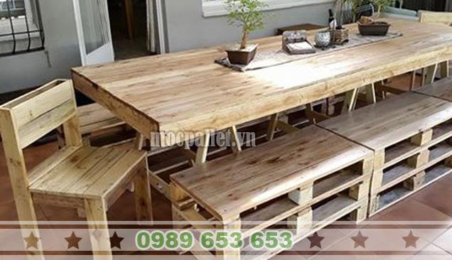 Bộ bàn ghế phòng ăn gia đình PA09