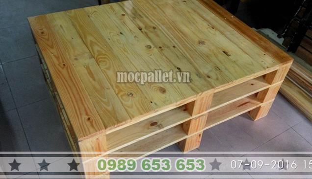 Bàn gỗ thông pallet BT17