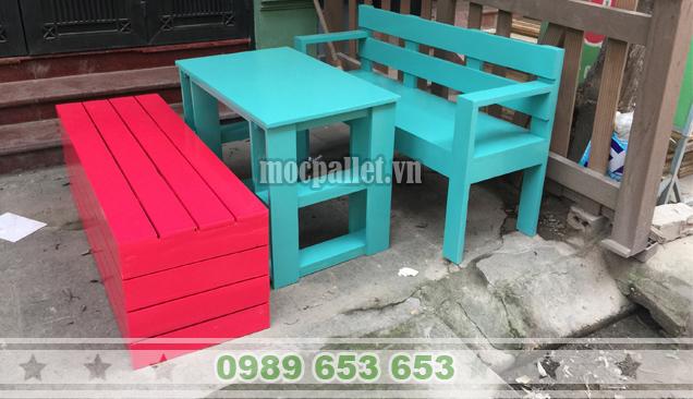 Bộ bàn ghế phòng khách PK08