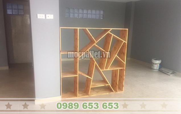 Kệ gỗ thông pallet KG25