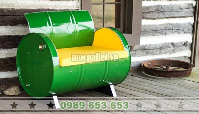 Ghế thùng phi sắt TP80