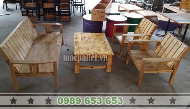 Bộ bàn ghế phòng khách PK17