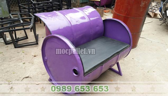 Ghế thùng phi sắt TP84
