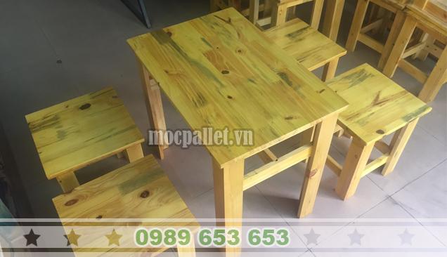 Bộ bàn ghế trà sữa giá rẻ BG105