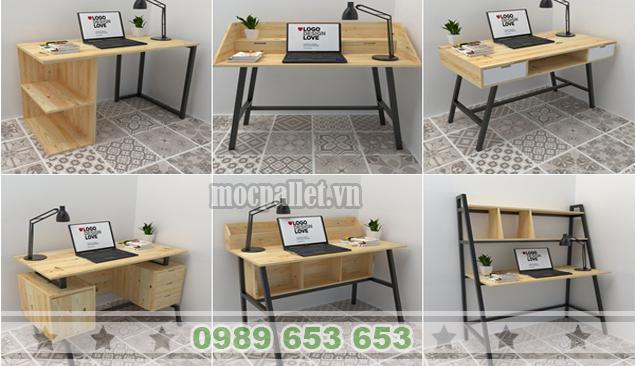 18 Mẫu bàn làm việc đẹp, giá rẻ nhất tại Hà Nội hiện nay