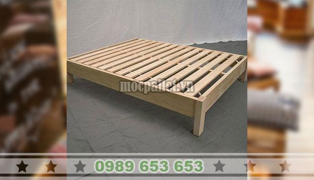 Giường ngủ gỗ thông pallet GN108