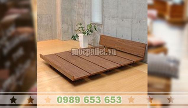 Giường ngủ gỗ thông GN116