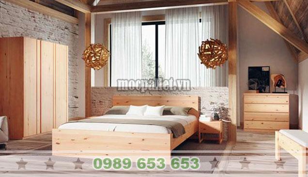 Mẫu giường hộp giá rẻ tại Hà Nội GH07