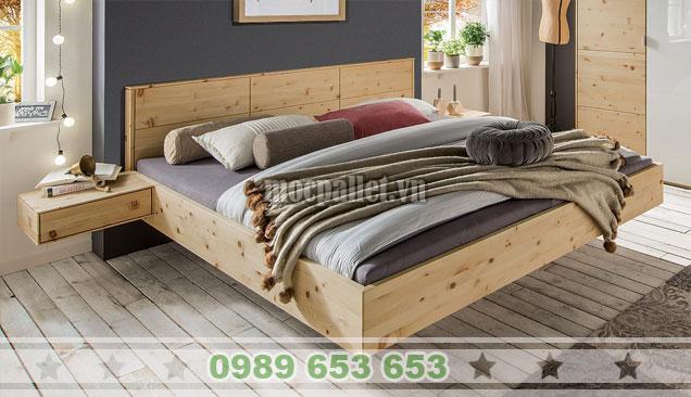 Mẫu giường hộp đẹp nhất tại Mocppalet GH11